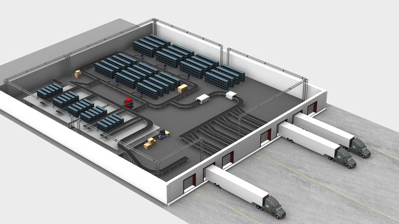 New Visual For 3D Conveyor Layout Keymas