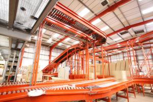 Conveyor systems overhead
