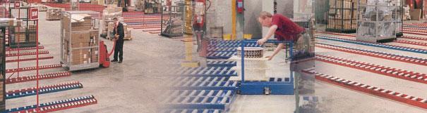 Gravity conveyor from Keymas
