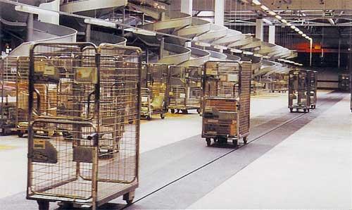 image of in-floor conveyor