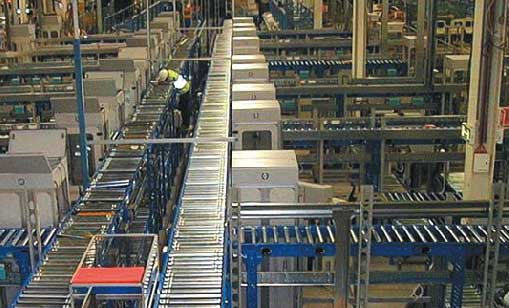 powered conveyor system image