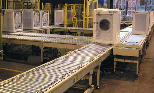powered roller conveyor image