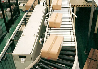 Automated roller conveyor